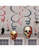 D�corations � suspendre t�te de mort