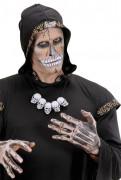 Collier crânes adulte Halloween