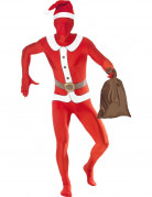 Ganzk�rperanzug Weihnachtsmann f�r Erwachsene