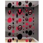 8 d�corations � suspendre carton Morsure Sanglante