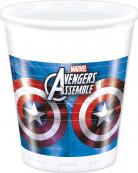 8 Gobelets en plastique Avengers™