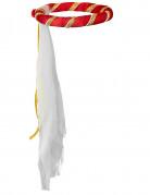 Coiffe médiévale rouge fille