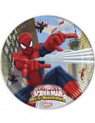 8 Assiettes Spiderman™ 23 cm