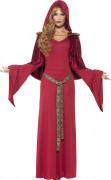 Déguisement prêtresse rouge femme
