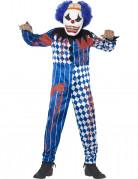 Déguisement clown arlequin enfant Halloween