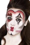 Kit maquillage reine de coeur adulte