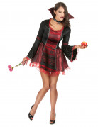 Déguisement vampire baroque femme Halloween