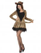 Déguisement léopard robe femme