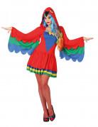Déguisement perroquet femme