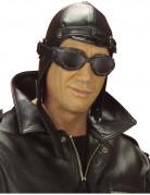 Bonnet aviateur noir adulte