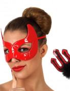 Kit diable rouge Halloween