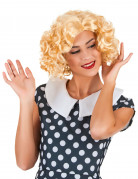 Perruque blonde starlette femme