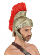 Casque latex guerrier Romain luxe adulte