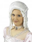 Ras de cou baroque dentelle blanche femme