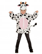 Veste à capuche vache enfant
