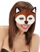 Loup peluche renard adulte