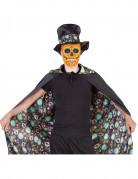 Cape réversible Dia De Los Muertos Halloween Adulte