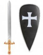 Kit chevalier croisé en plastique pour Enfant