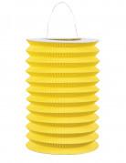 Lampion en papier jaune