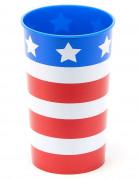Verre USA en plastique rigide réutilisable
