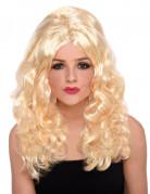 Perruque Bimbo blonde femme