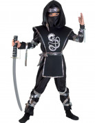 Déguisement dragon ninja noir garçon