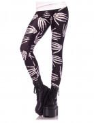 Legging squelette femme Halloween