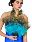 Eventail plumes de paon adulte