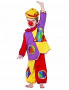 Déguisement petit clown coloré bébé