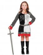 Déguisement princesse chevalier fille