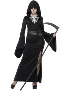 Déguisement faucheuse noire femme Halloween