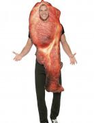 Déguisement tranche de bacon adulte