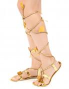 Sandales Romaines avec cordon femme