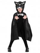 Cape chat 75 cm enfant Halloween