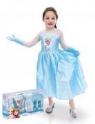Coffret déguisement, chaussures et gants Elsa Reine des neiges™ fille