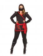 Déguisement ninja assassin femme