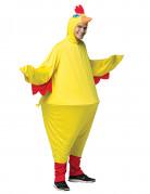 Déguisement poulet à cerceau adulte