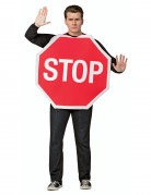 Déguisement panneau Stop adulte