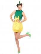 Déguisement d'ananas femme