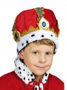 Couronne rouge empereur enfant