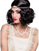 Collier court perles blanches nacrées femme
