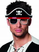 Lunettes pirate adulte