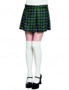 Kilt écossais vert femme