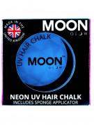 Crème pour mèches à cheveux bleue fluo UV 3,5 g Moonglow ©