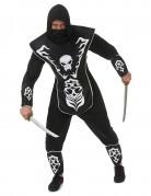Déguisement ninja squelette homme