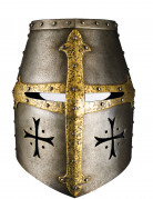Masque carton casque de chevalier