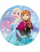 Disque Anna et Elsa azyme La Reine des Neiges™ 20 cm