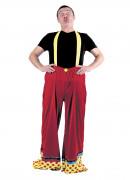 Pantalon clown adulte