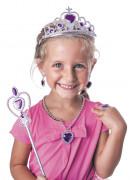 Kit accessoires princesse violette fille