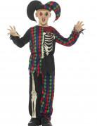 Déguisement squelette fou du roi enfant Halloween